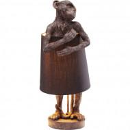 Tafellamp Animal Monkey Bruin Zwart