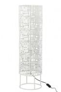 Vloerlamp Rond Metaal Wit Large 89,5cm
