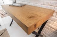 Bureau industrieel met Lade eikenlook 110 cm Model studio