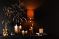 Deco beeld Palmboom Met Apen Poly Goud 36cm