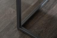 Design salontafel SYMBIOSE 100cm taupe keramiek in marmerlook