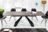 Eettafel Keramiek Uitschuifbaar Eikenlook CONCORD 180-230 cm