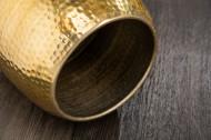 Handgemaakte bijzettafel ORIENT 36 cm goud gehamerd design