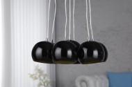 Hanglamp Model: Black Golden Pearls