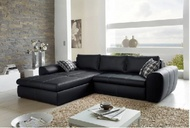 Loungebank Model: Smooth - Zwart - 16422