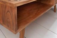 Massief acacia hout salontafel MYSTIC LIVING 117 cm 3D-oppervlak