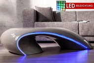 Salontafel Model: Curve Grey + LED