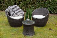 Tuinlounge set 3- delig set inclusief zitkussens