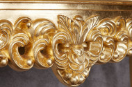 Barok Kaptafel,Consoletafel Sidetable Goud 110 cm Handgemaakt