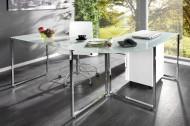 Bureau Model: Studio - wit melkglas
