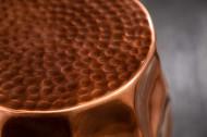 Design hamerslag Bijzettafel ORGANIC ORIENT 46 cm koperen