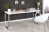 Designtafel WIT DESK 160x60cm hoogglans wit