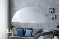 Elegante design hanglamp 70cm wit zilver Model Glow hanglamp