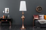Elegante design vloerlamp LUCIE rose goud 160cm