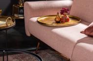 Elegante set van 2 salontafels ELEMENTS 62 cm goud met afneembaar tafelblad