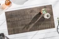 Massieve salontafel SCORPION 100 cm grijze mangohouten haarspeldpoten