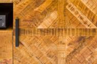 Massive TV-Board INFINITY 160 cm Mango Wood industrieel ontwerp