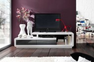TV / HiFi Meubel Model: Spring - Wit/grijs