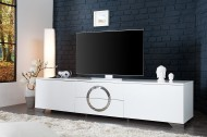 TV / HiFi Meubel Model: Zhen 180cm - Hoogglans Wit