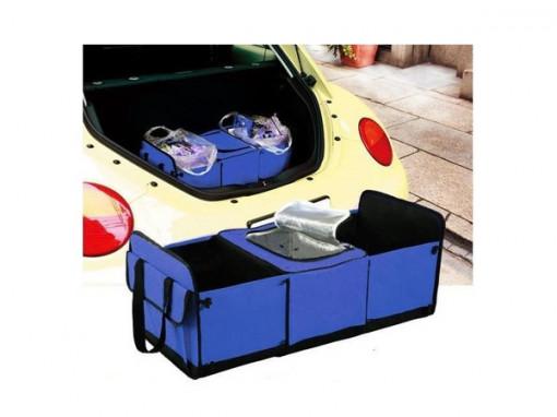 Organizator portbagaj auto cu mai multe buzunare