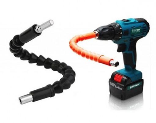 Prelungitor universal pentru surubelnita, flexibil, cap magnetic