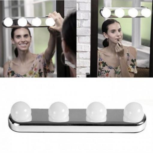 Lampa portabila pentru machiaj