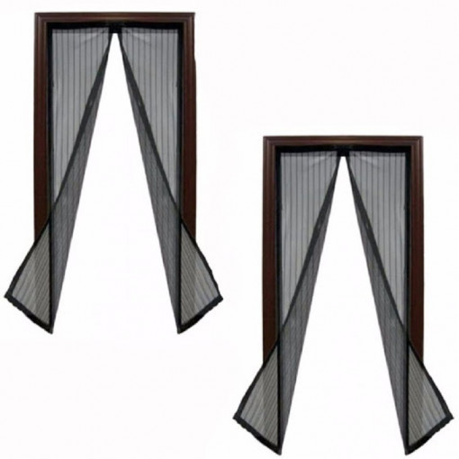 Set 2 perdele magnetice antiinsecte 190 x 100 cm