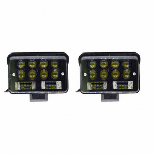 Proiector LED auto offroad 126W, 2 faze