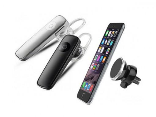 Casca Bluetooth model 2018 + Suport magnetic pentru telefon