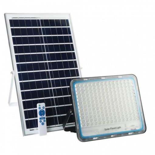 Proiector solar 300W cu panou solar si telecomanda