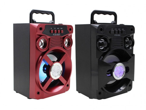 Boxa portabila Bluetooth disco
