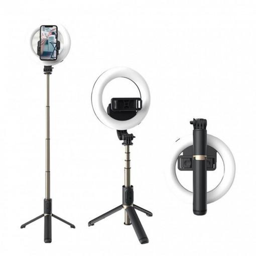 Inel trepied Selfie Stick Bluetooth, portabil