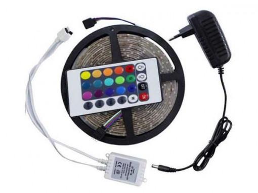 Banda LED cu telecomanda si joc de lumini