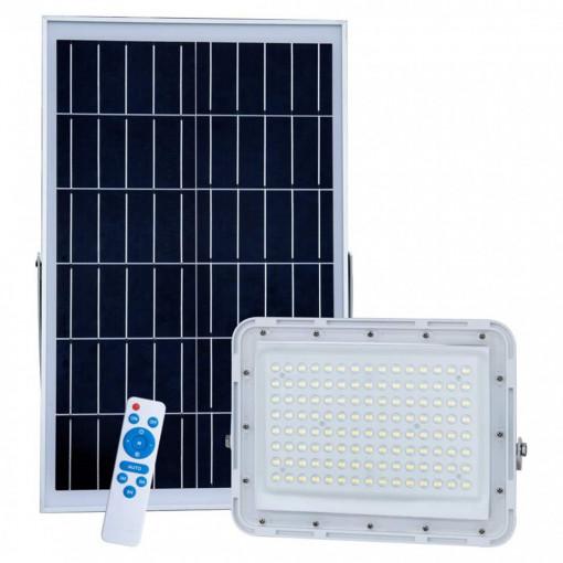 Proiector solar 400W cu panou solar si telecomanda
