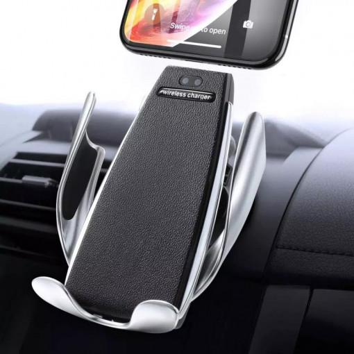 Set 2 x Incarcator auto Wireless cu senzor inteligent si Fast Charger