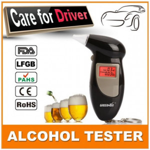 Alcool tester digital, cu alerta sonora