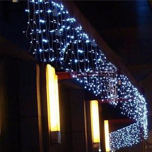 Instalatie de Craciun Tip Perdea 8 m x 1 m, 384 LED ALB RECE