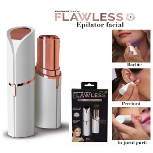 Mini epilator facial cu LED