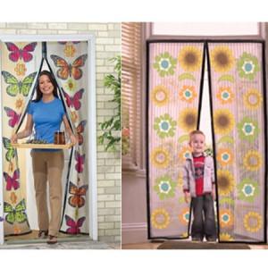 Perdea magnetica anti insecte model Flori, Fluturi sau colorata diverse modele, Instant Door
