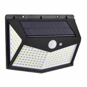Lampa solara cu senzor, 212 Led-uri si 3 faze de lumina