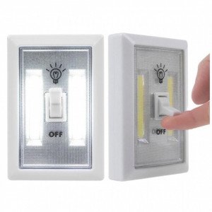 Set 2 x Intrerupator fara fir, cu led