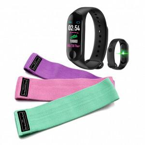 Benzi elastice fitness + Bratara fitness