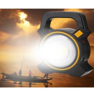 Lanterna reincarcabila LED, incarcare solara + USB