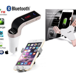 Modulator bluetooth + Suport auto universal
