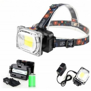 Set 2 x Lanterna reincarcabila de cap cu LED mare 2.5 cm