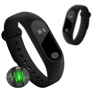 Bratara fitness M3, Bluetooth, ritm cardiac, notificari apeluri
