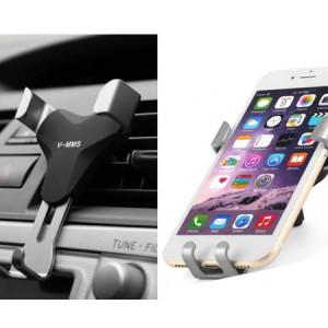 Suport universal telefon cu prindere pe grila de aerisire