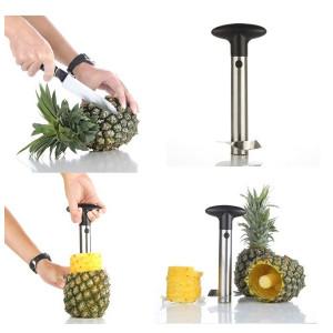 Ustensila pentru decojit sau feliat ananas