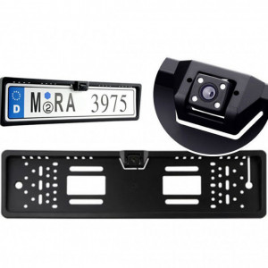 Camera video Night Vision marsarier pentru suport numar auto