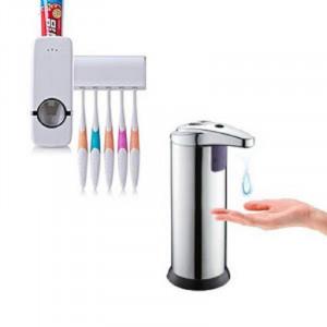 Dozator de sapun cu senzor de miscare + Dozator pasta de dinti